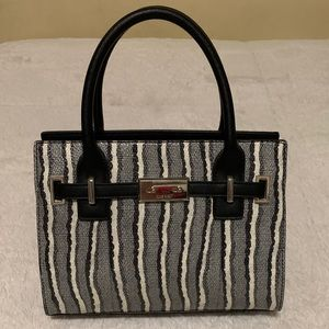 Zebra print Nine West handbag